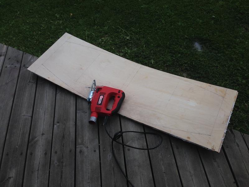 DIY Wakeskate jiggsaw