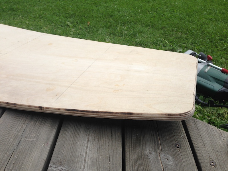 DIY Wakeskate edge with a router